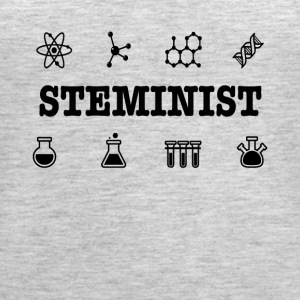 Steminist Science March Environmental Feminist Tee - Women's Premium Tank Top