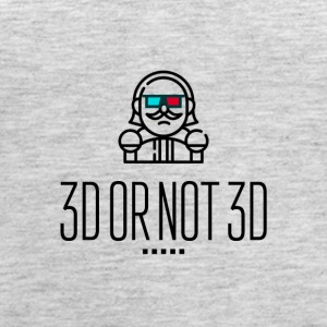 3D or not 3D - Women's Premium Tank Top