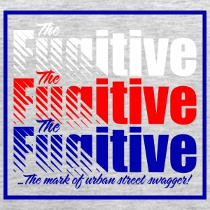 FUGITIVE 1312 BLUE RED AND WHITE - Women's Premium Tank Top