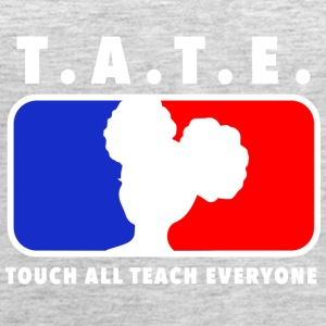 Touch All Teach Everyone Afro Puffs Tee - Women's Premium Tank Top