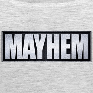 Mayhem Black & Silver - Women's Premium Tank Top