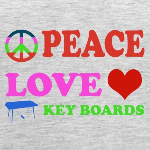 Peace love Keyboards - Women's Premium Tank Top