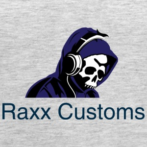 raxx customs logo 2 - Women's Premium Tank Top