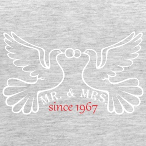 Mr And Mrs Since 1967 Married Marriage Engagement - Women's Premium Tank Top
