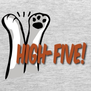 hi5 paws - Women's Premium Tank Top