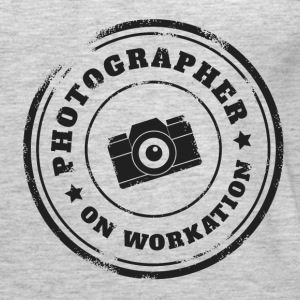 PHOTOGRAPHER ON WORKATION - Women's Premium Tank Top
