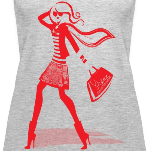 red lady - Women's Premium Tank Top