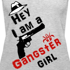 Ganster girl - Women's Premium Tank Top