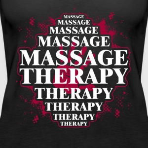 MASSAGE THERAPY TEE SHIRT - Women's Premium Tank Top