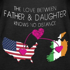 The Love Between Father And Daughter - Women's Premium Tank Top