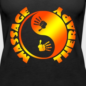 MASSAGE THERAPY SHIRT - Women's Premium Tank Top