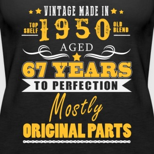 Vintage made in 1950 - 67 years to perfection (v.2017) - Women's Premium Tank Top