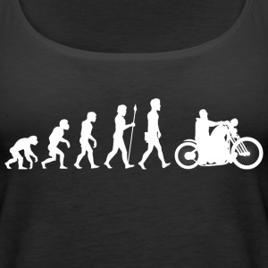 Evolution/Motorcycle/Motorcyclist/Biker/Bike - Women's Premium Tank Top