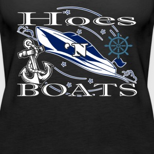 BOAT AND HOES SHIRT - Women's Premium Tank Top