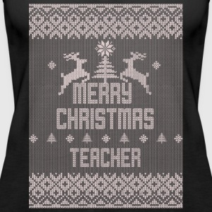 Merry Christmas Teacher - Women's Premium Tank Top
