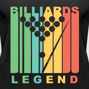 Vintage Style Billiards Legend Retro Pool - Women's Premium Tank Top
