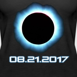 Total Solar Eclipse August 21 2017 T-Shirt - Women's Premium Tank Top