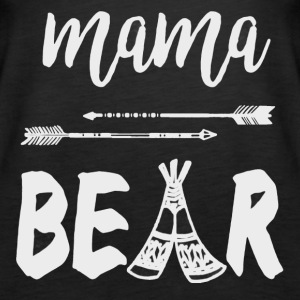 Mama Bear Shirt - Women's Premium Tank Top