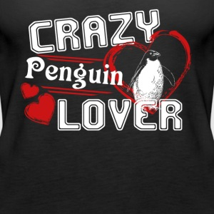 Penguin Lover Shirt - Women's Premium Tank Top