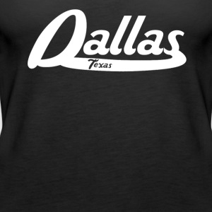 Dallas Texas Vintage Logo - Women's Premium Tank Top