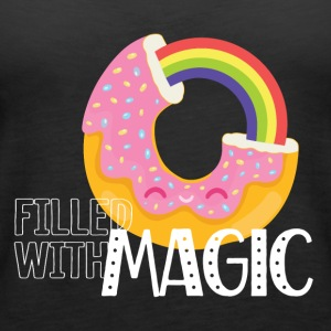 Donut - Filled with Magic - Women's Premium Tank Top