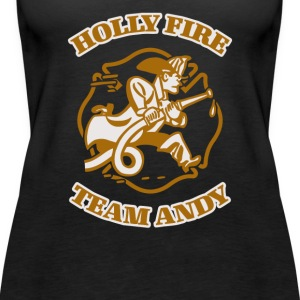 Help the Village of Holly Fire - Women's Premium Tank Top