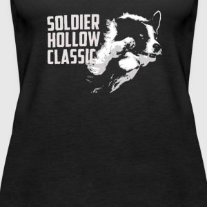 Soldier Hollow Classic Border Collie Sheep Dog - Women's Premium Tank Top