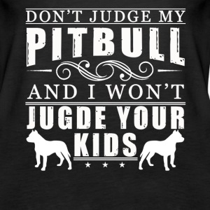 PITBULL MOM TEE SHIRT - Women's Premium Tank Top