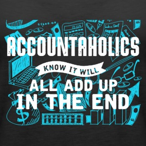 Accountaholics Shirt - Women's Premium Tank Top