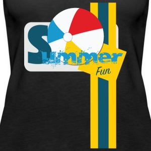TeeS Apparel summer Design 2017 - Women's Premium Tank Top