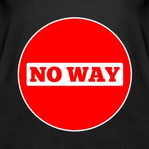 No Way - Women's Premium Tank Top