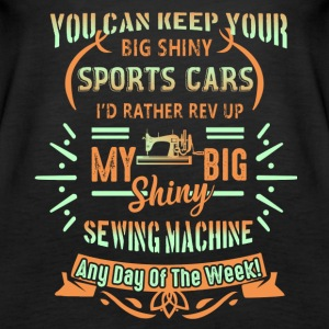 Sewing Machine Shirt - Women's Premium Tank Top
