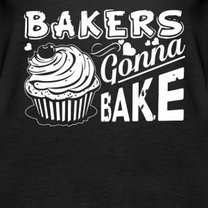 Bakers Gonna Bake Cupcake Cake Baker Tee Shirt - Women's Premium Tank Top