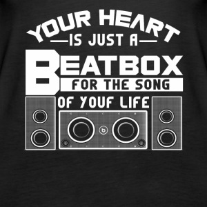 Your heat is just a beatbox Shirt - Women's Premium Tank Top