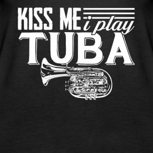 I Play Tuba Tee Shirt - Women's Premium Tank Top