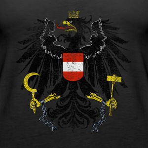 Austrian Coat of Arms Austria Symbol - Women's Premium Tank Top