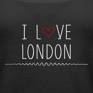 I heart london - Women's Premium Tank Top