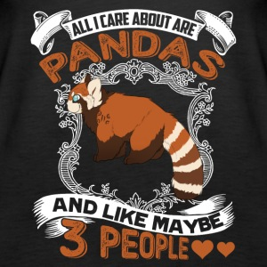 Red Panda Shirt - Always Be Red Panda Tee Shirt - Women's Premium Tank Top