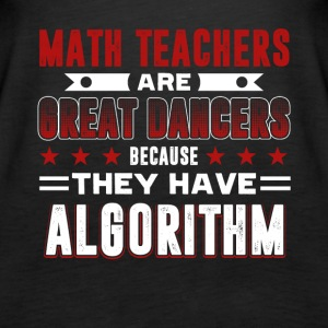 Math Teachers Shirt - Women's Premium Tank Top