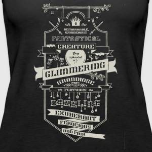 Fantastical creature climmering - Women's Premium Tank Top