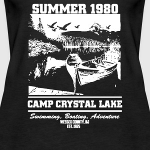 Camp Crystal Lake Summer 1980 - Women's Premium Tank Top