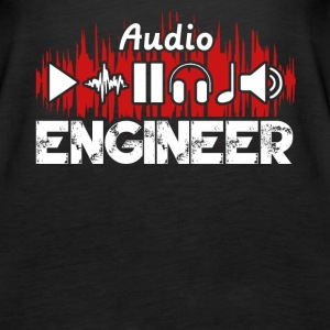 Audio Engineer Tee Shirt - Women's Premium Tank Top