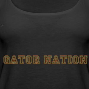 Gator Nation Plus Size Fit - Women's Premium Tank Top
