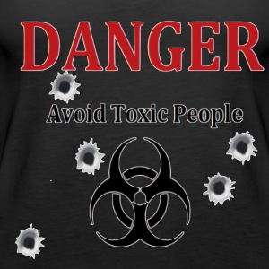 Avoid toxic people - Women's Premium Tank Top
