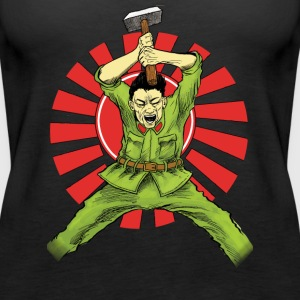 The Asian Warrior - Women's Premium Tank Top