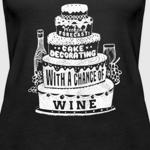 Chance of Wine - Women's Premium Tank Top