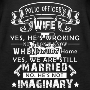 Police Officer's Wife Tee Shirt - Women's Premium Tank Top