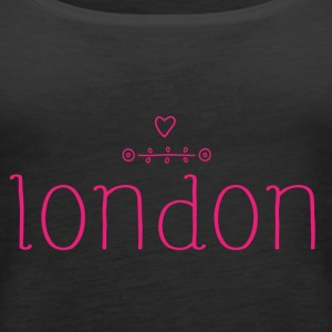 London Love Simple - Women's Premium Tank Top