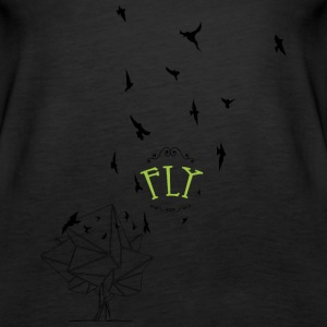 Feel free to fly - Women's Premium Tank Top