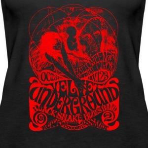 The Velvel Underground Black Snake - Women's Premium Tank Top